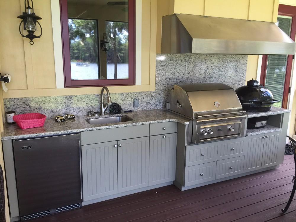 White kitchen design in Bird Key