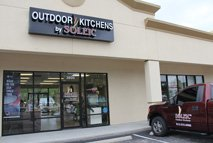 soleic outdoor kitchen store front in tampa