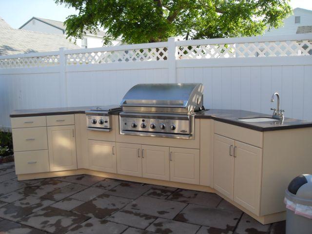 An optional kitchen