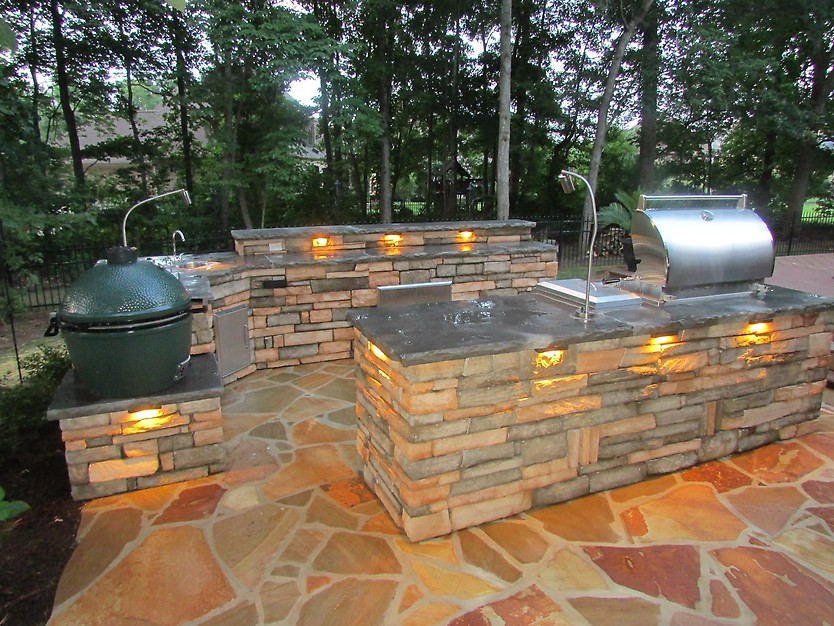 outdoor lighted kitchen in sarasota fl